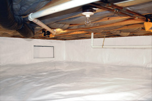 Crawl Space Repair After in Lubbock